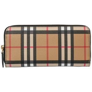 Burberry Monogram Ellerby Check Wallet